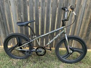 "Vintage Original 1990s 20"" Dyno GT Blaze Chrome BMX Bike Racing Bicycle"