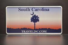USA SOUTH CAROLINA STATE LICENSE PLATE US Kennzeichen Nummernschild WUNSCH TEXT