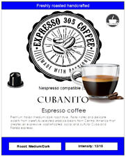 50 Nespresso capsules compatible pods FRESHLY ROASTED gourmet coffee CUBANITO