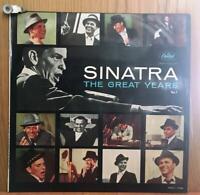 FRANK SINATRA - THE GREAT YEARS - LP/VINILO - ESPAÑA - 1963 - (EX/NM - MB+/VG+)