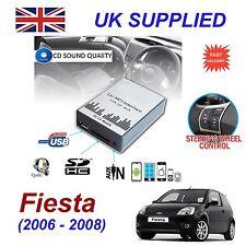 Ford FIESTA 06-08 MP3 SD USB CD AUX Input Audio Adapter Digital Module