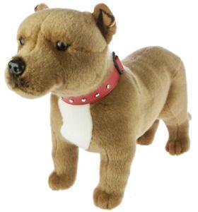 Staffordshire Bull Terrier Staffy Plush Soft Toy Dog 32cm Winston by Bocchetta