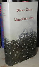 SIGNIERT Günter Grass - Mein Jahrhundert | Hardcover Nobelpreisträger signed