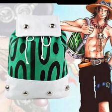 New Anime One Piece Backpack Portgas D Ace Canvas Cosplay School Bag