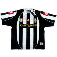 2002-03 Juventus Maglia Home *Cartellino e Confezione  SHIRT MAILLOT TRIKOT