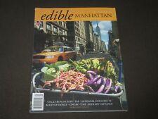 2008 SEPTEMBER/OCTOBER EDIBLE MANHATTAN MAGAZINE - PREMIER ISSUE - O 9755