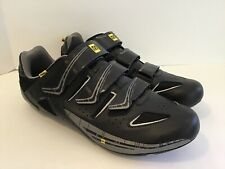 Mavic Bike Shoes Mens 12 Black Contagrip Ergofit 300124
