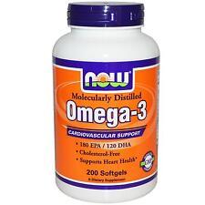 Now Foods Omega-3 180 EPA 120 DHA 200 Softgels