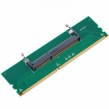 DDR3 Laptop SO-DIMM to Desktop DIMM Memory RAM Connector Adapter DDR3 New a X1E2