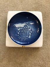 1982 Bing & Grondahl Plate B & G The Christmas Tree Copenhagen Denmark 9082