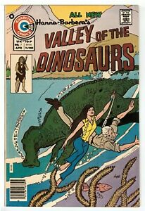 Valley of the Dinosaurs #7 VF (8.0) Charlton Comic 1976 HIGH GRADE
