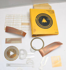 Kodak Chemical Milling Metalworking Technology Photofabrication Samples USED F07