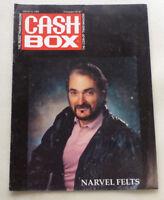 1991 CASH BOX MUSIC MAGAZINE PUBLICATION COVER - NARVEL FELTS