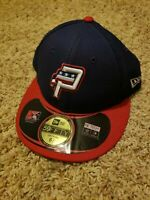 NWT New Era 59Fifty MiLB Hat Size 6 7/8 Potomac Nationals Fitted Cap
