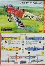 "Avia BH-11 ""Boska""  Zweisitzer Zivil, KP, 1:72, Plastik , CZ, Schweiz, NEUHEIT"