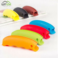 Colorful Silicone Shopping Bag Basket Carrier Grocery Holder Handle Cozy Grip 1