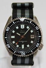 SEIKO 7002-7000 Vintage Diver Watch 6105 Dial Automatic Bond Nylon Strap