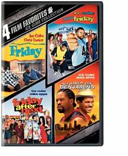 4 Film Favorites Ice Cube (Benjamins, Friday, Next Friday , After) R1 New DVD