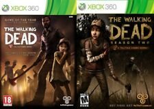 the walking dead goty & season 2   Xbox 360  PAL FORMAT