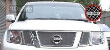ZunSport Nissan Navara D40 MK2 2010-2013 Polished Steel Mesh Upper Grille