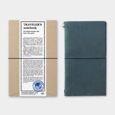 MIDORI TRAVELER'S notebook Blue (Regular Size) Stationery Leather cover Japan