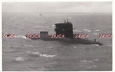 "ORIGINAL Photograph Royal Netherlands Navy. HNLMS ""Tijgerhaai"" submarine. 1976"