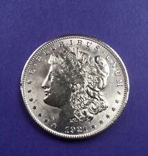 1921 Morgan Silver Dollar - Almost Unc. - Frosty!  NR & Free Shipping