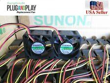 Pack of 2x new original fans for Netgear ProSafe FS728TP V1H2  Sunon fans