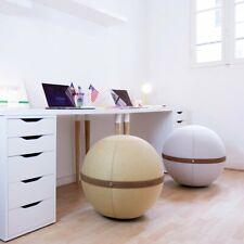 Bloon Tissu Cuir Ballon-Siège Diamètre 55-60 CM Gymnastique Lavable Élégant
