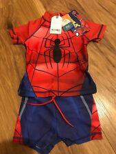 Boys Next Spider-Man 9-12 mths Swimwear Brand New