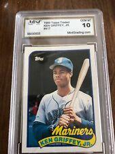 1989 Topps Traded Ken Griffey Seattle Mariners #41T Baseball Card