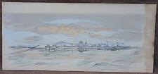 Landscape Jacques Villon Cubist Lithograph for Virgil Paul Valery Book 1953