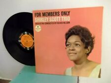 "Shirley Scott Trio,Impulse A-51,""For Members Only"",US,LP,st.orange label,1963,M-"