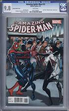 Amazing Spider-Man #13    Larroca Variant    Silk & Spider-Gwen    CGC 9.8