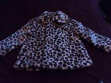 Gymboree~ 5-6 Coat/Jacket ~ Animal print ~  No hood ~ Very soft