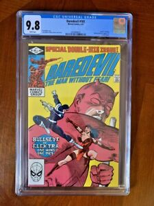 "Daredevil #181 CGC 9.8 (1982) - Frank Miller - ""Death"" of Elektra"