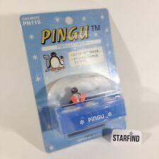 Vintage Pingu Penguin Car Mate Coin Change Coins Holder 3 Slots PN115
