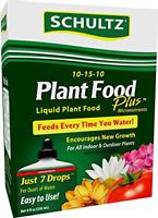 Schultz SPF45170 Purpose Liquid Plant Food 10-15-10, 8 oz