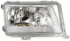 Projector Headlights LHD Clear Chrome Pair For Mercedes W124 05/93-06/95 - On