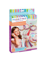 MAKE_IT_REAL Armbänder Velourlederoptik Kinder Spielzeug Freundschaftsbänder