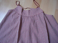 ROBE BENSIMON VICHY XS 11 12 ANS TBE ETE PLAGE Dress Vintage RETRO Tunique