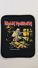 Iron Maiden piece of mind vintage RARE Sew On patch music metal rock