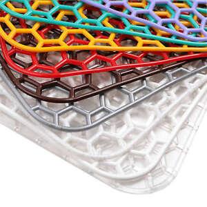 Square Sink Mats Set 29x29 cm 9 Colours Dish Sink Drainer Soft Scratch Protector