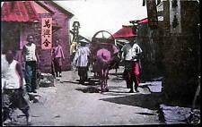 CHINA~1908 CHEFOO ~ Street Scene