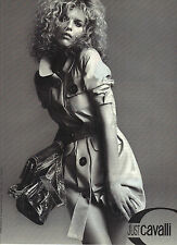 PUBLICITE ADVERTISING  2012  JUST CAVALLI  manteau trench haute couture
