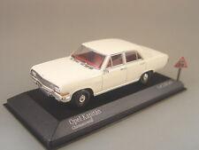 Opel Kapitän v. 1964 weiss - Minichamps 1:43 - 400048000 #E