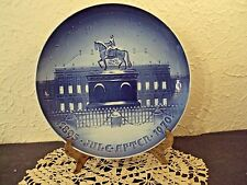 "Bing & Grondahl The Royal Place 9"" collectible plate 1970 original box Nice"