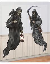 6ft Halloween Party Decoration Grim Reaper Scene Setter Add On Decorating Kit