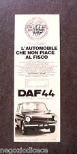 [GCG] N989 - Advertising Pubblicità - 1969 - DAF 44 , AUTOMATIC VARIOMATIC