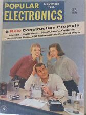 Popular Electronics Magazine Construction Projects November 1956 083117nonrh